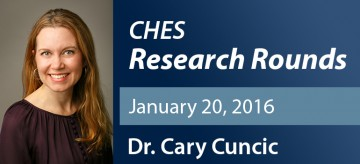 January 2016 Research Rounds