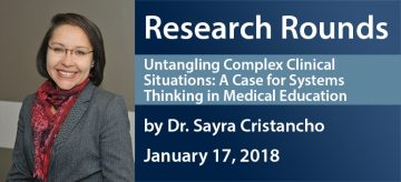 January 2018 Research Rounds